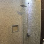 white-slice-pebbles-mosaic-for-wall