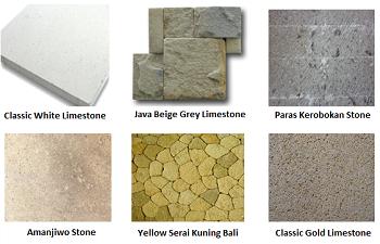 bali limestone cladding