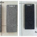 black lavastone color appereance