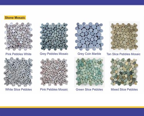 bali pebbles mosaic
