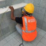 green sukabumi stone installer