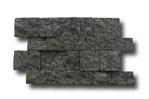 basalt cladding - tumbled