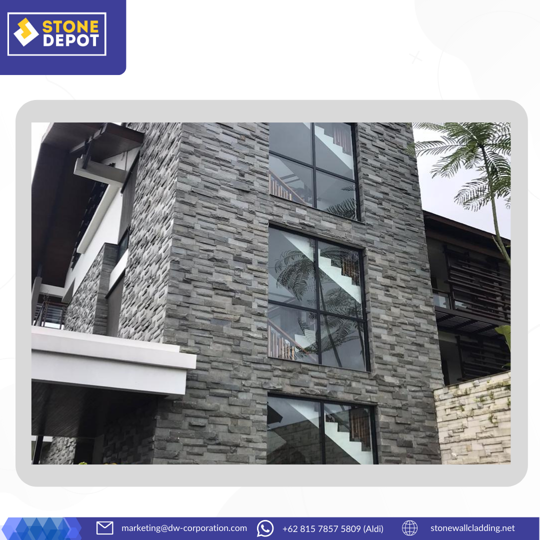 Basalt Stone Cladding for Eco-Friendly Design at Pullman Ciawi