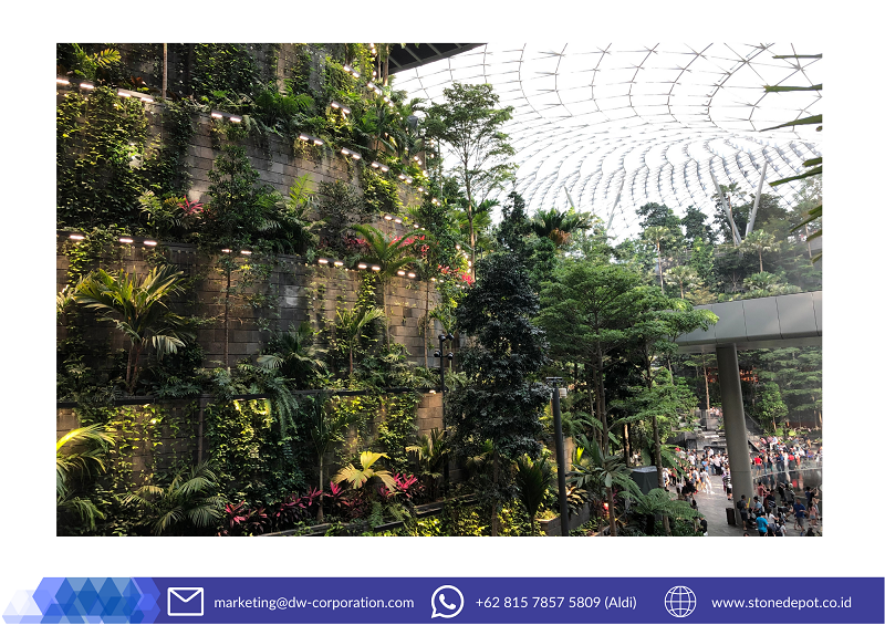 black-lavastone-natural-wall-cladding-jewel-changi-ariport