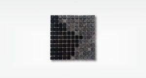 Mosaic - Lavastone - 2,5x2,5 - basah - 1