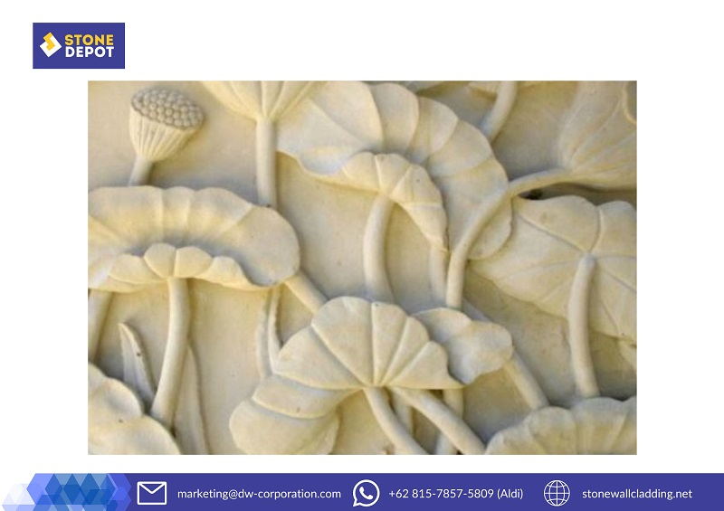 How to Install Bali Stone Carving